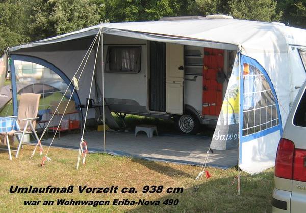 Vorzelt Wohnwagen Berger Seitenteil Camping In