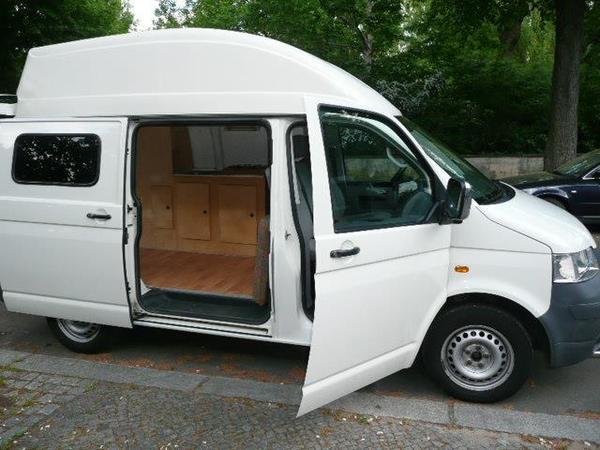 vw campingbus t5 erst gr ne plakette in berlin wohnmobile kaufen und verkaufen. Black Bedroom Furniture Sets. Home Design Ideas