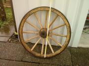 Wagenrad Holz
