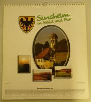 Wandkalender Sinsheim in