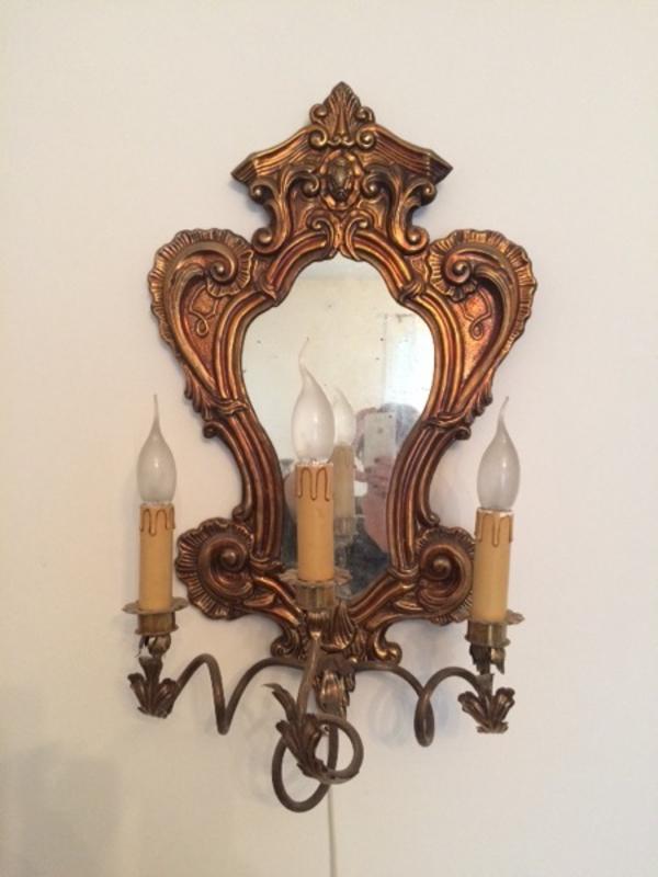wandlampe antik kaufen gebraucht und g nstig. Black Bedroom Furniture Sets. Home Design Ideas