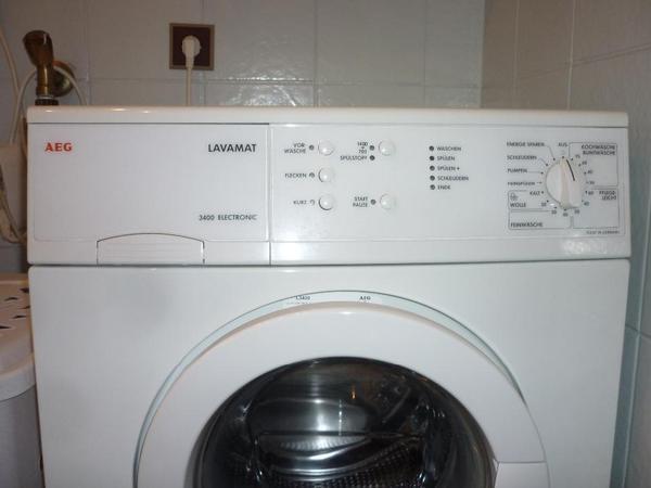 waschmaschine aeg in f rth waschmaschinen kaufen und verkaufen ber private kleinanzeigen. Black Bedroom Furniture Sets. Home Design Ideas