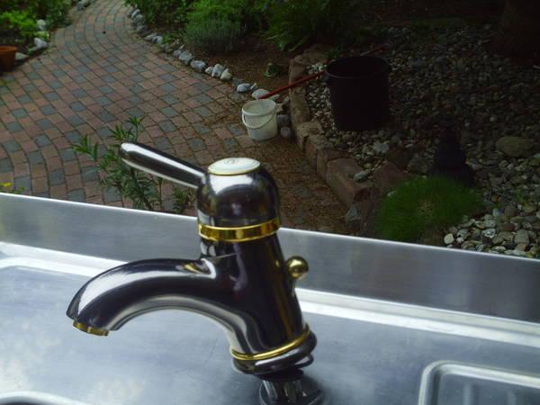 waschtischarmatur von axor platinfarben gold in karlsruhe bad einrichtung und ger te kaufen. Black Bedroom Furniture Sets. Home Design Ideas