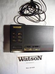 Watson Uhrenradio Radiowecker