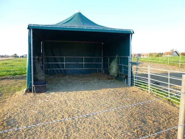 Weidezelt von texas trading zu verkaufen in wolfersdorf for Boden heuraufe pferd