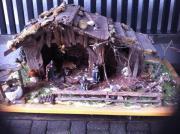 Weihnachtshaus aus Holz,