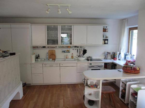 sehr gut erhaltene bosch einbauk che mit siemens. Black Bedroom Furniture Sets. Home Design Ideas