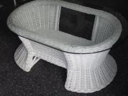 rattantisch glasplatte haushalt m bel gebraucht und neu kaufen. Black Bedroom Furniture Sets. Home Design Ideas