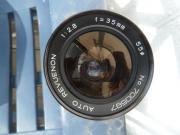 Weitwinkel-Objektiv Auto