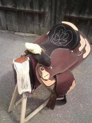 Westernsattel für Pony