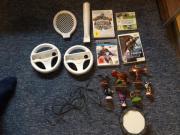 Wii Zubehör und spiele 2 X Wii Lenkrad 1 X Wii Baseballschläger 1 X Wii Tennisschläger 1 X ps3 FIFA 14 1 X Wii Sports 1 X Wii skylanders mit Figuren 1 X Wii metroid Prime ... 20,- D-65719Hofheim Heute, 14:56 Uhr, Hofheim - Wii Zubehör und spiele 2 X Wii Lenkrad 1 X Wii Baseballschläger 1 X Wii Tennisschläger 1 X ps3 FIFA 14 1 X Wii Sports 1 X Wii skylanders mit Figuren 1 X Wii metroid Prime
