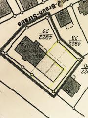 Wohnbau- Abriss-Grundstück