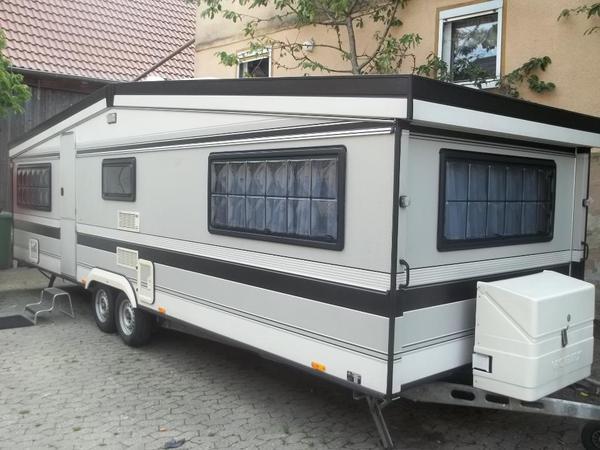 wohnwagen hobby landhaus 750 in ippesheim kaufen und. Black Bedroom Furniture Sets. Home Design Ideas