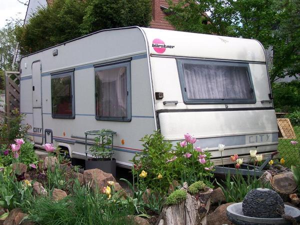 wohnwagen von b rstner modell 6116 in worms kaufen und. Black Bedroom Furniture Sets. Home Design Ideas