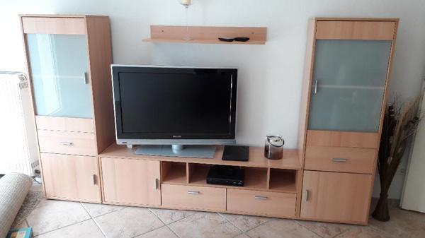 Gebraucht Wohnzimmer Schrankwand Kaufen 63225 Langen