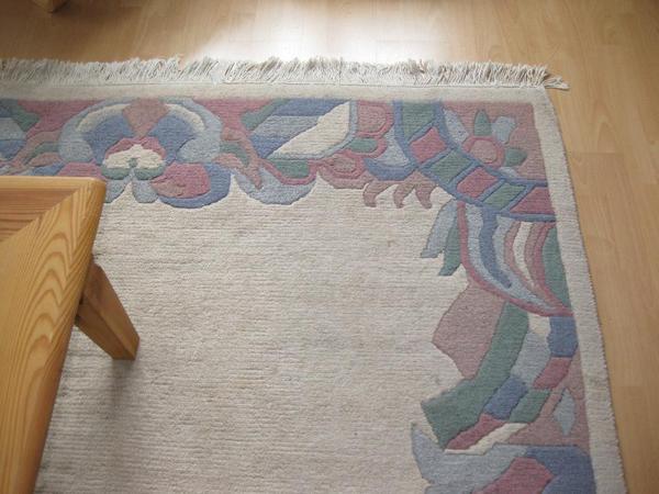 großer, gepflegter Teppich aus Nichtraucher Haushalt