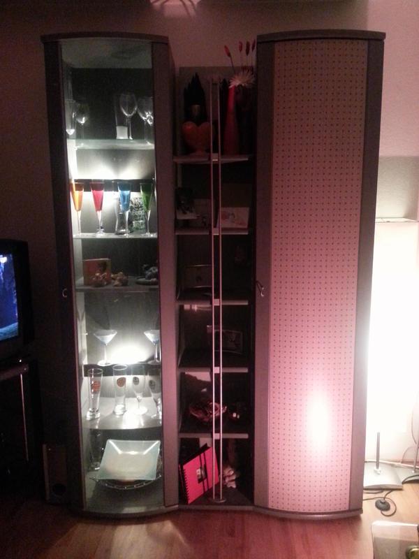 wohnzimmerschrank modern und wohnzimmerschr nke anbauw nde aus m hlacker. Black Bedroom Furniture Sets. Home Design Ideas