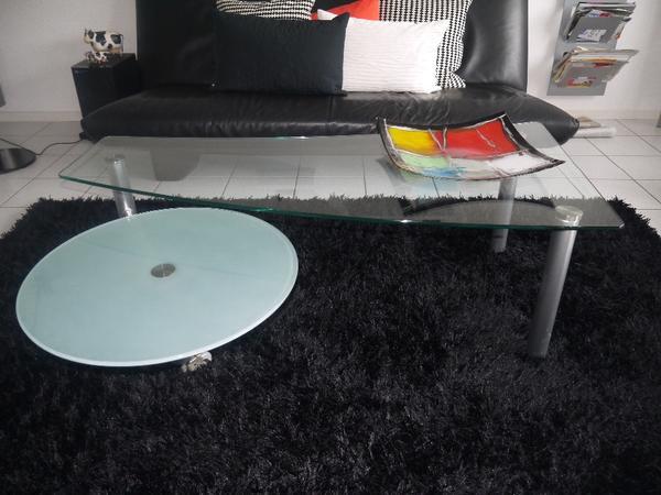 wohnzimmertisch glas:Wohnzimmertisch Glas: Couchtisch Glas Weiß eBay Kleinanzeigen