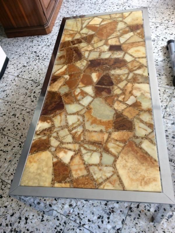 Wohnzimmer tisch kaufen gebraucht und g nstig for Wohnzimmertisch marmorplatte
