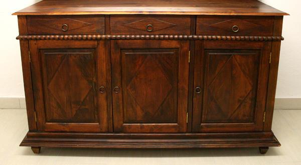 Wundersch nes vollholz sideboard im rustikalen stil in for Sideboard vollholz