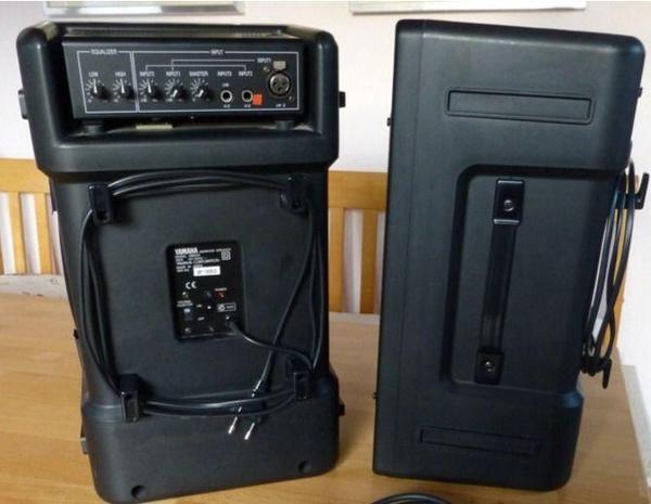 yamaha ms60s in bad sachsa boxen lautsprecher. Black Bedroom Furniture Sets. Home Design Ideas