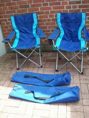 Zwei klappstühle angelstuhl