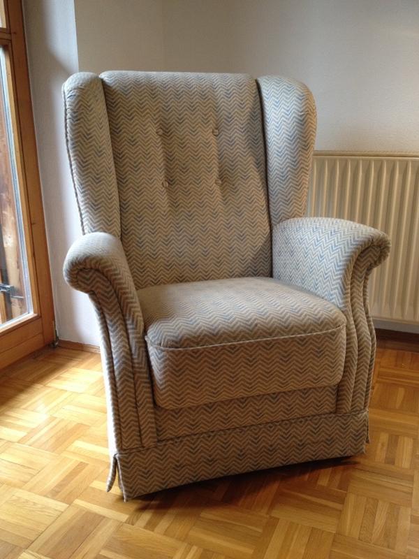 zwei massive sessel zu verkaufen in gr nwald polster sessel couch kaufen und verkaufen ber. Black Bedroom Furniture Sets. Home Design Ideas