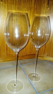 Zwei XXL Weingläser