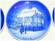 10 Sammelteller - Weihnachtsteller DESIREE Dänemark