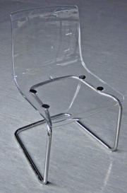 12Stück Plexi Stühle