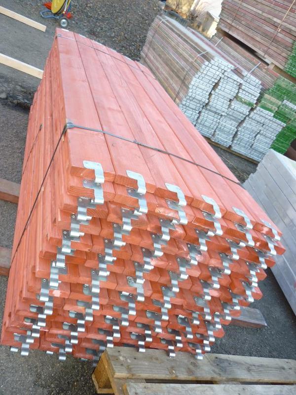 1500 m² gebrauchtes Plettac Baugerüst