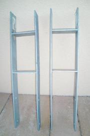 2 H-Pfostenträger 60 cm hoch