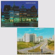 2 Postkarten von Frankfurt a