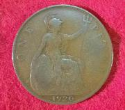 2 x One Penny 1920
