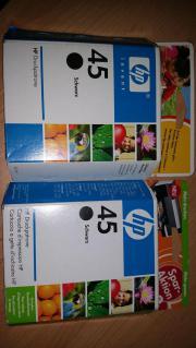 2x HP Druckerpatronen