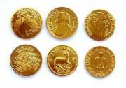3 Medaillen - Krügerrand -