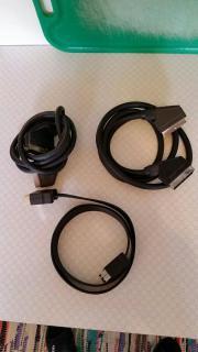 3 x SCART-Kabel Verteiler für