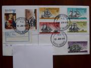 4 interessante Briefe - Antarktis Raoul