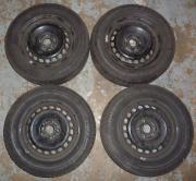 4 Stahlfelgen mit M+S Reifen, 6J x 15 H2, 5x112, 2150924, 195/65 R15 91T, ContiWinterContact TS 810 gebraucht kaufen  Sinsheim