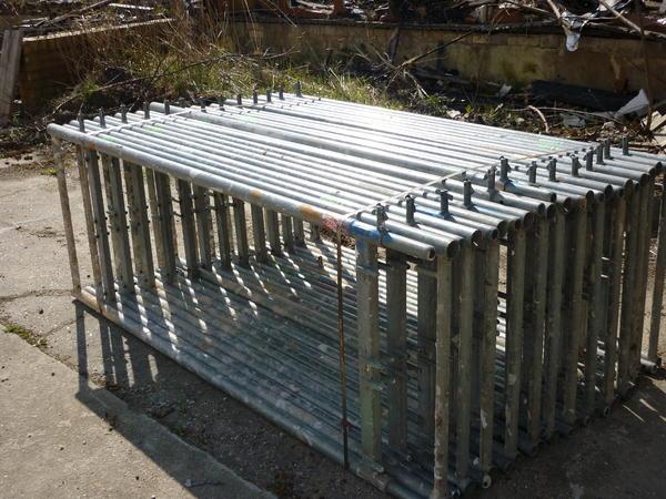 41 m² gebrauchtes Gerüst Plettac
