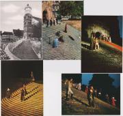 5 verschiedene Ansichtskarten Freilichtspiele Schwäbisch