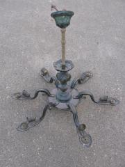 6 armige Lampe,