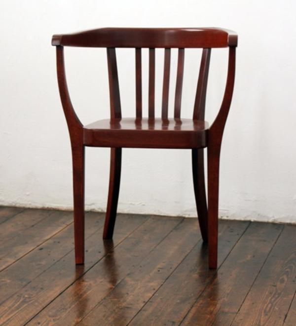 6 Stühle Aus Holz Rotbraun In Bregenz Speisezimmer