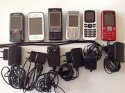 6 x Handys.