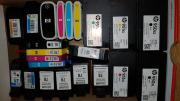 62 LEERE Original Druckerpatronen alles