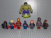 8 Minifiguren Marvel