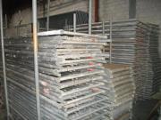 99 m² gebrauchtes Alu Gerüst
