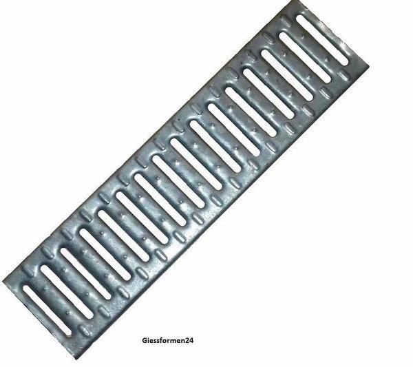 Ablaufrost rost abwasserrost gitter rinnengitter verzinkt for Rost gitter garten