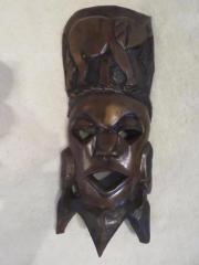 afrikanische Maske - Gesicht