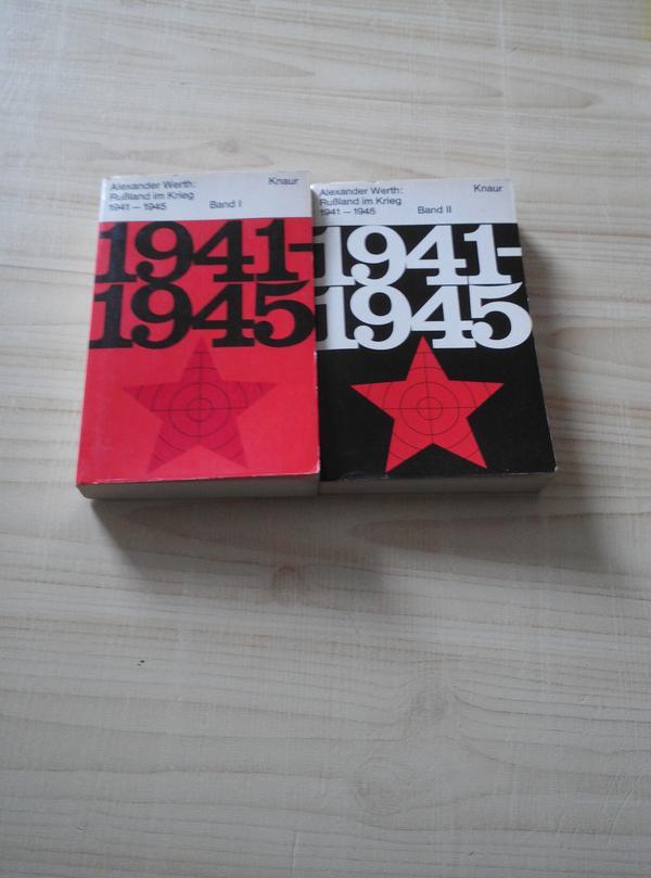 Alexander Werth Rußland im Krieg 1941 - 1945 - Dortmund Hörde - Alexander WerthRußland im Krieg1941 - 1945Band 1 und 2 als Taschenbuchplus Versandkosten - Dortmund Hörde